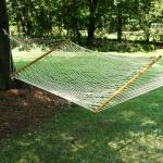 Pawleys Island Large DuraCord Rope Hammock, Oatmeal