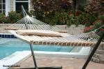 Smart Garden Monte Carlo Premium Poly Hammock with Stand
