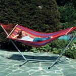 Byer of Maine Aruba Jet Set Hammock Combo, Cayenne Red