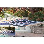 Smart Garden Santorini Premium Reversible Poly-cotton Hammock