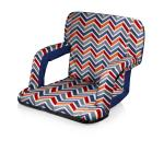 Picnic Time Ventura Seat Portable Recliner Chair (Vibe Collection)