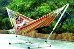 "Stansport Brazillian Hammock/Stand Combo - Double - 79"" x 59"""