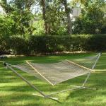 Pawleys Island Large DuraCord Rope Hammock, Tan